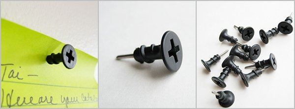 Push Pins - Decoration, Tool or Gag