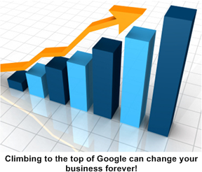 Climbing to the top of Google can change your business forever!