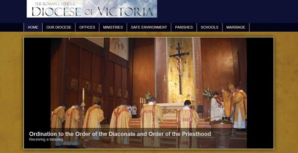 roman-catholic-diocese-victoria-faith-based-website