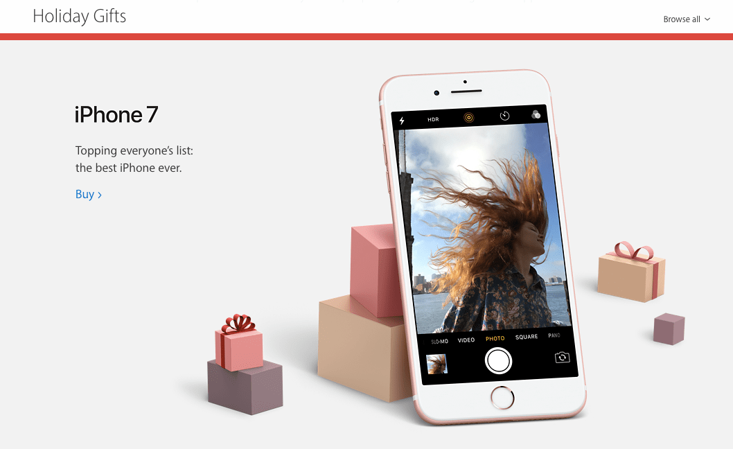 Apple gift guide increases ecommerce sales