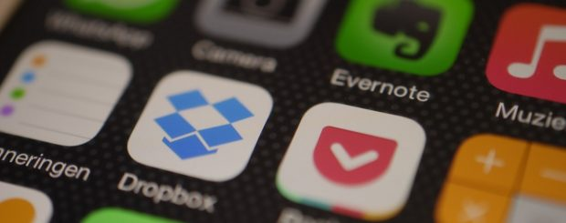 Marketing and productivity features for Dropbox iOS app