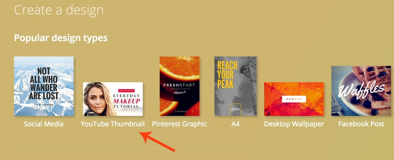 Design and create your own YouTube video thumbnail with Canva