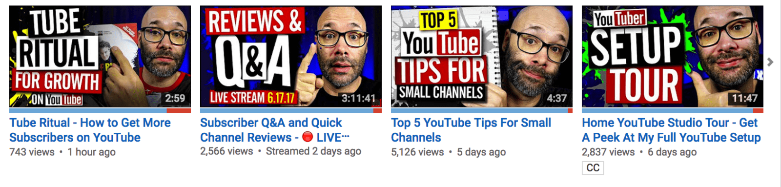 Branding for your video content can include custom designed thumbnail images