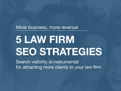 Law firm SEO strategy services in San Jose and Silicon Valley