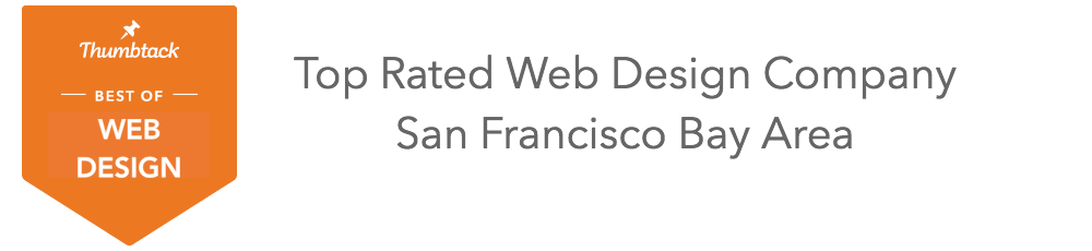top rated website design company in the San Francisco Bay Area