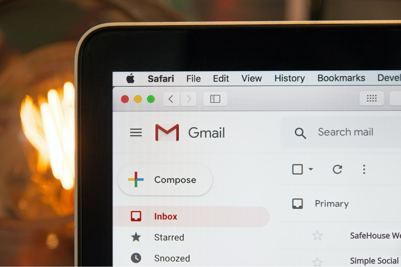 Email marketing in Gmail inbox in Silicon Valley